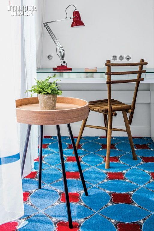 Childhood Whimspy Informs Interiors At Paris S Hotel Joke By Maidenberg Architecture Floor Decor Interior Decor