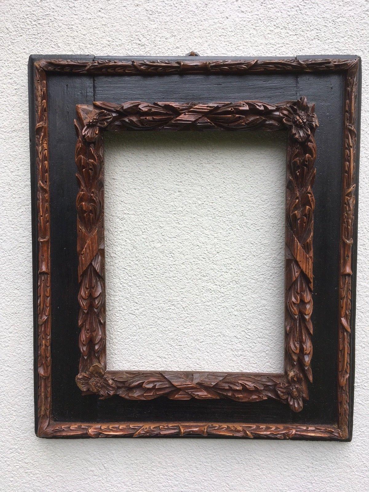 italienischer Barock-Rahmen italian baroque cassetta frame cornice ...
