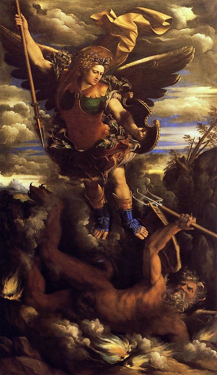 Dosso Dossi. St. Michael. [Dresden]