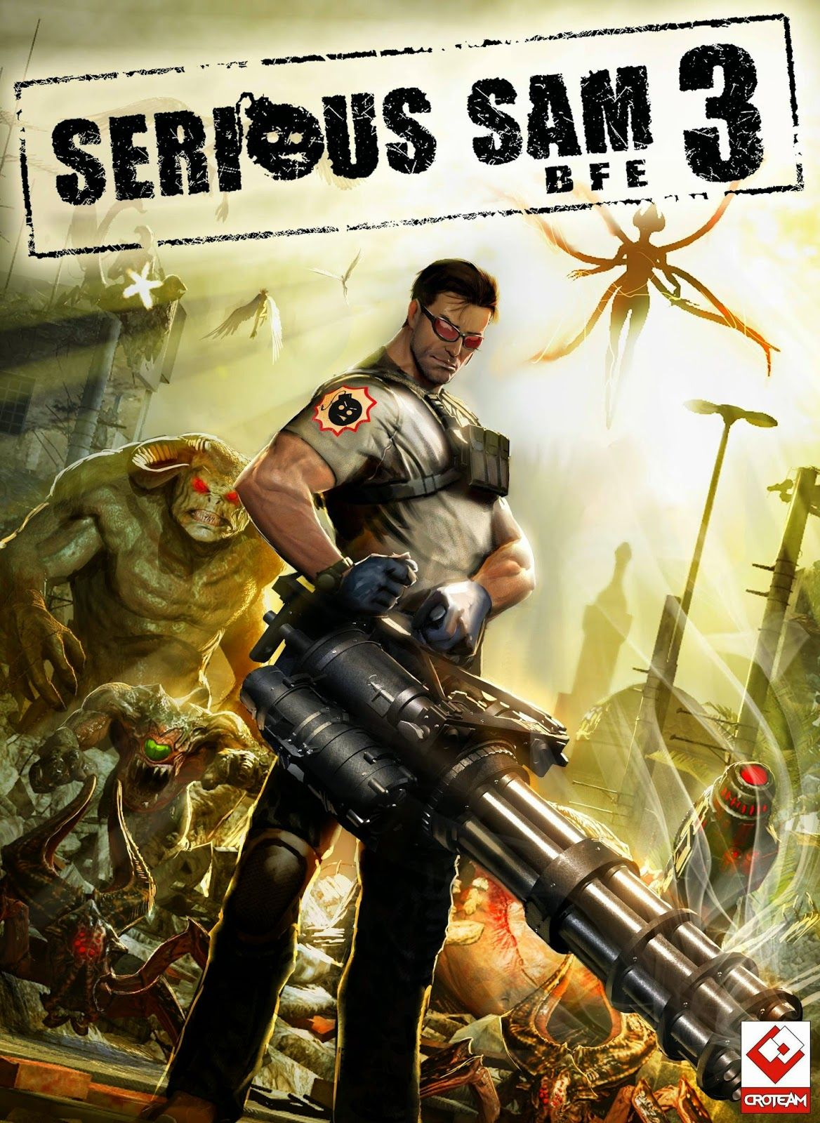 Serious Sam 3 BFE Repack PC Game Download free with single dlc