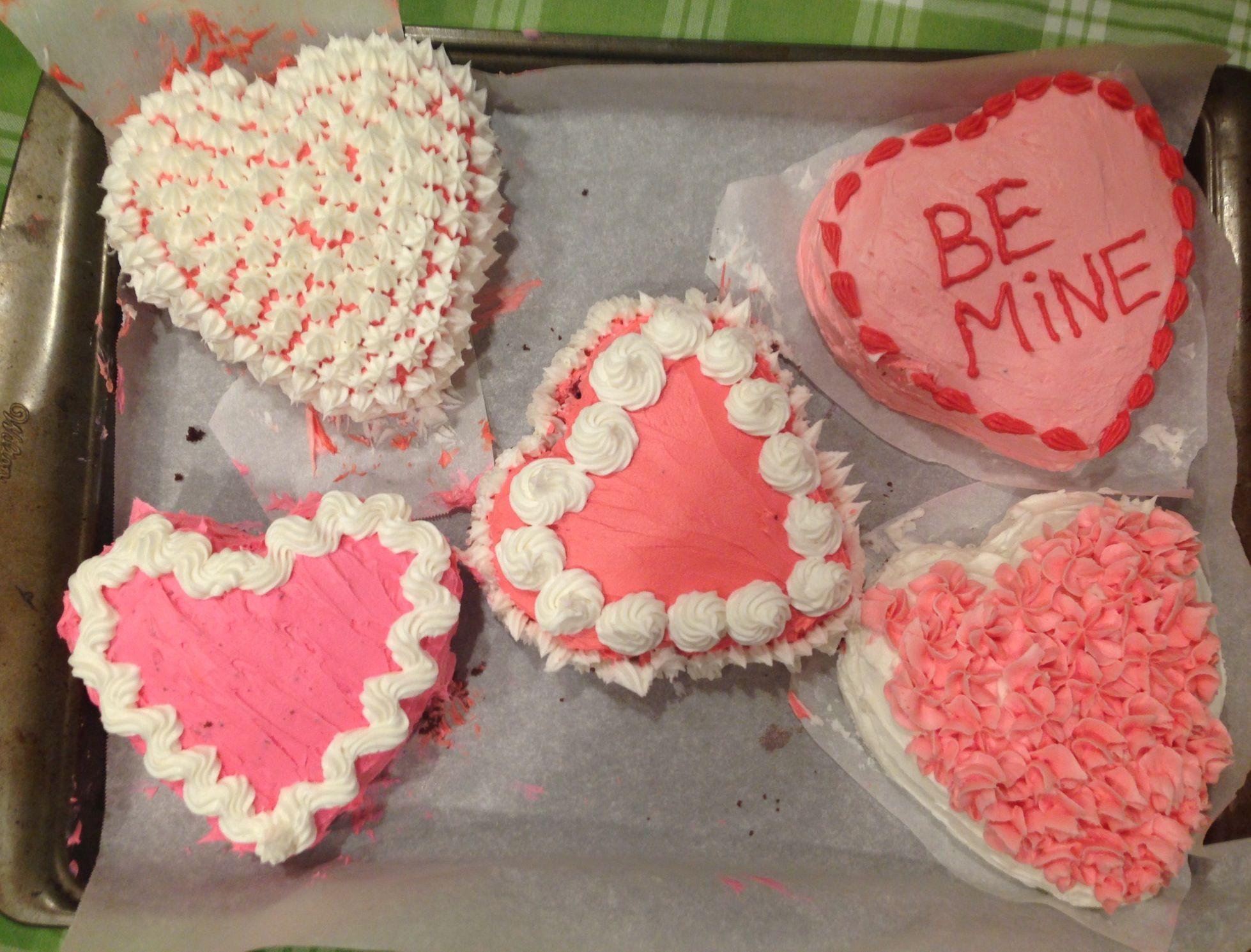 Valentine's Day Cakes 2014 #valentinesday #valentinesdaycake #heartcake #pink #pinkcake #bake #bemine