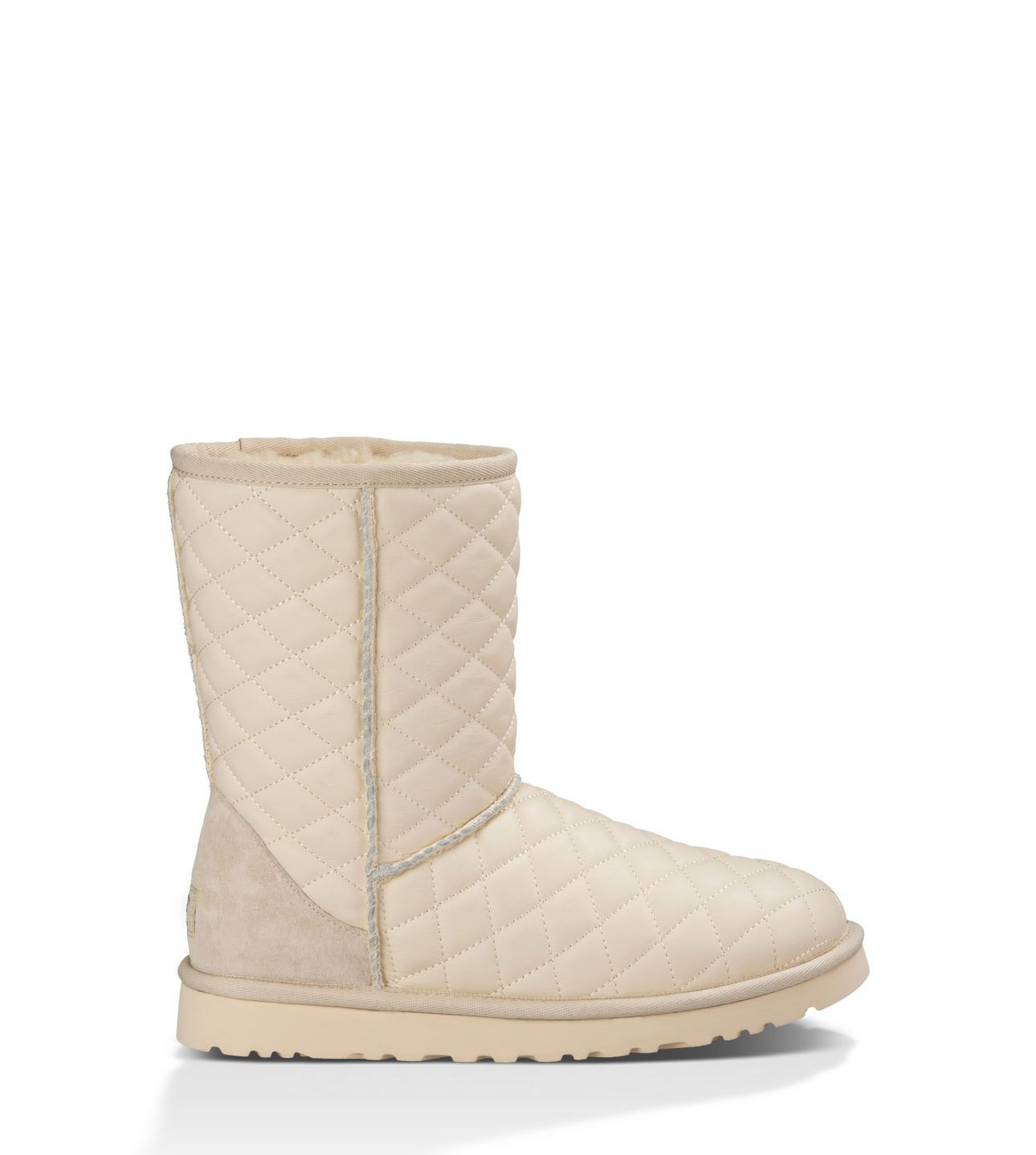 With the soft, cozy lining made from genuine shearling, these UGG knit boots are sure to keep the feet warm and comfortable for the colder months ahead.