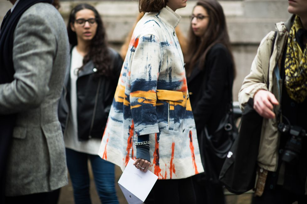 From the Streets of Paris - Paris Men's Fashion Week Fall 2014 Street Style Day 4.