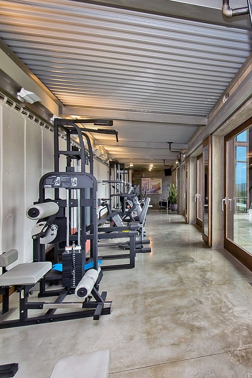 Recovery Room Design: Inspiring Workout Area And Recovery Room With Absolutely