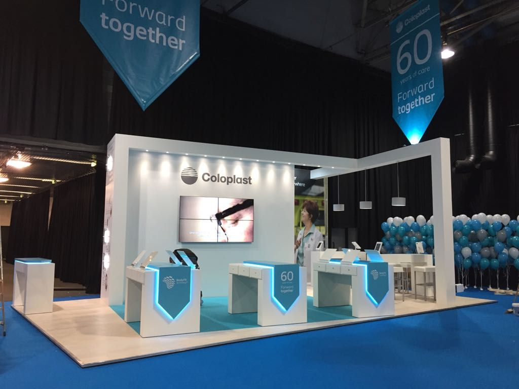 Exhibition Stand Design Glasgow : Coloplast ascn glasgow exhibition stand ☆ exhibit