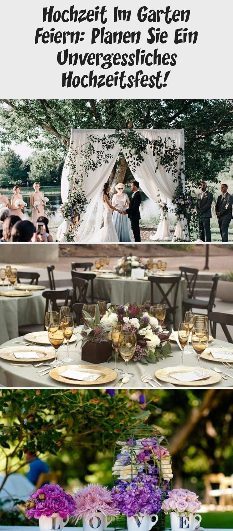 Hochzeit Im Garten Feiern Planen Sie Ein Unvergessliches Hochzeitsfest Hochzeitsfeier Garten