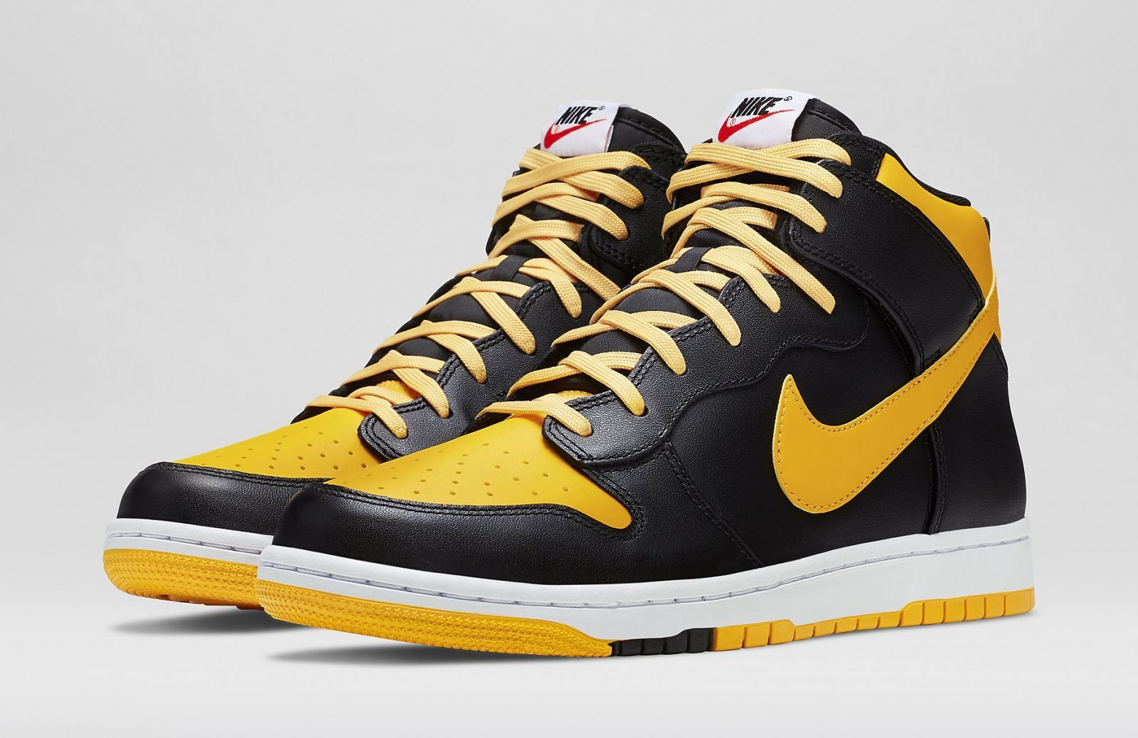 Nike's CMFT Dunk High build with an enticing, Jordan-inspired colorway.