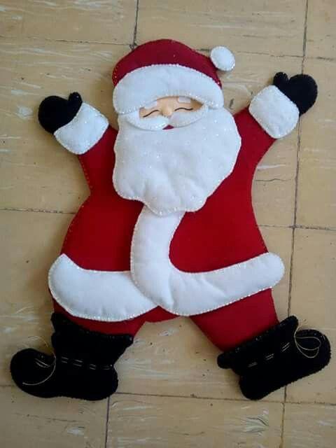 Pin de jorge puerta en NAVIDAD Pinterest Navidad, Fieltro y Adornos