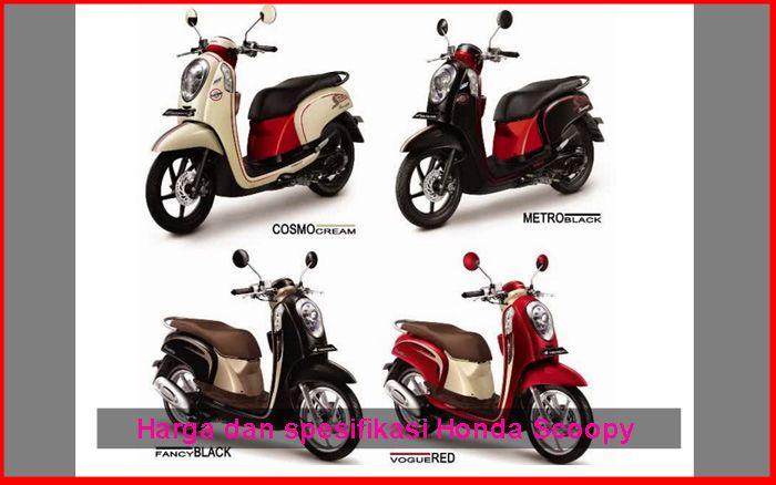 Ini Harga Dan Spesifikasi Motor Honda Scoopy Otokawan Com Cara Otomotif Harga Mobil Dan Tips Motor Terbaru Honda Motor Honda Motor