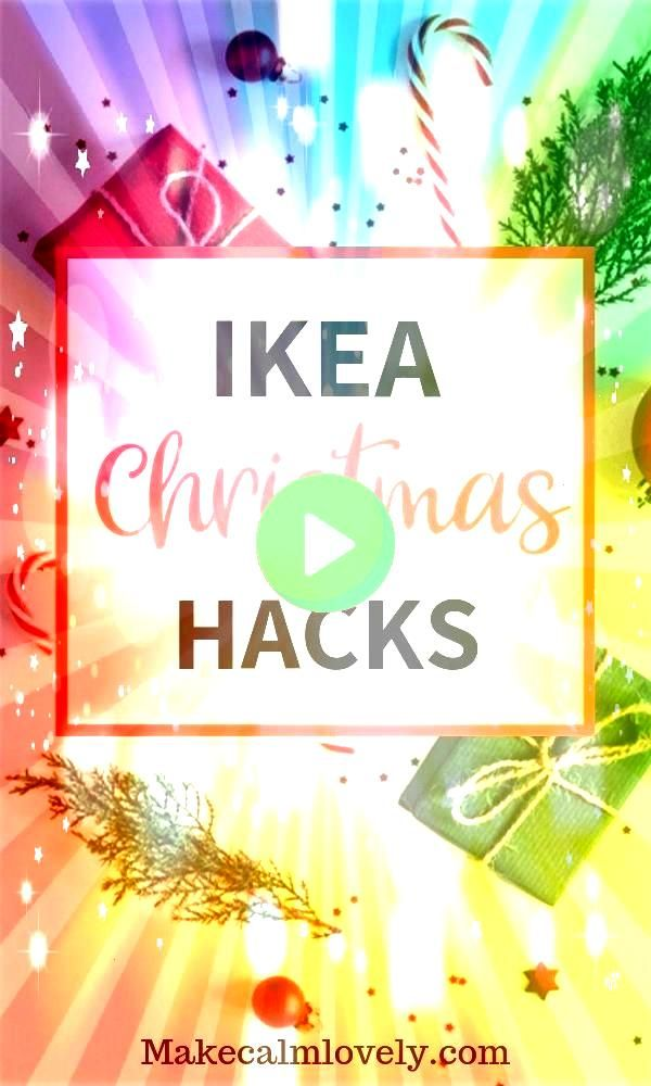 Hacks for the most Wonderful time of the Year  Make Calm Lovely IKEA Christmas Hacks These great IKEA Christmas hacks are for the most wonderful time of the year Try thes...