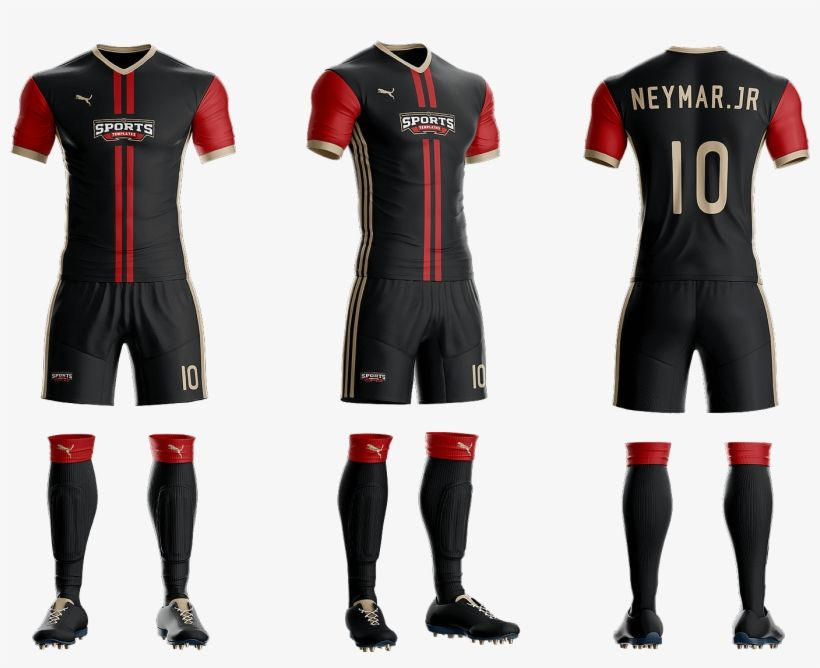 Download Download Goal Soccer Kit Jersey Uniform Template Psd Mockup Uniforme Futebol Psd Png Image For Free Camisa De Futebol Camisetas De Futebol Camisas De Futebol