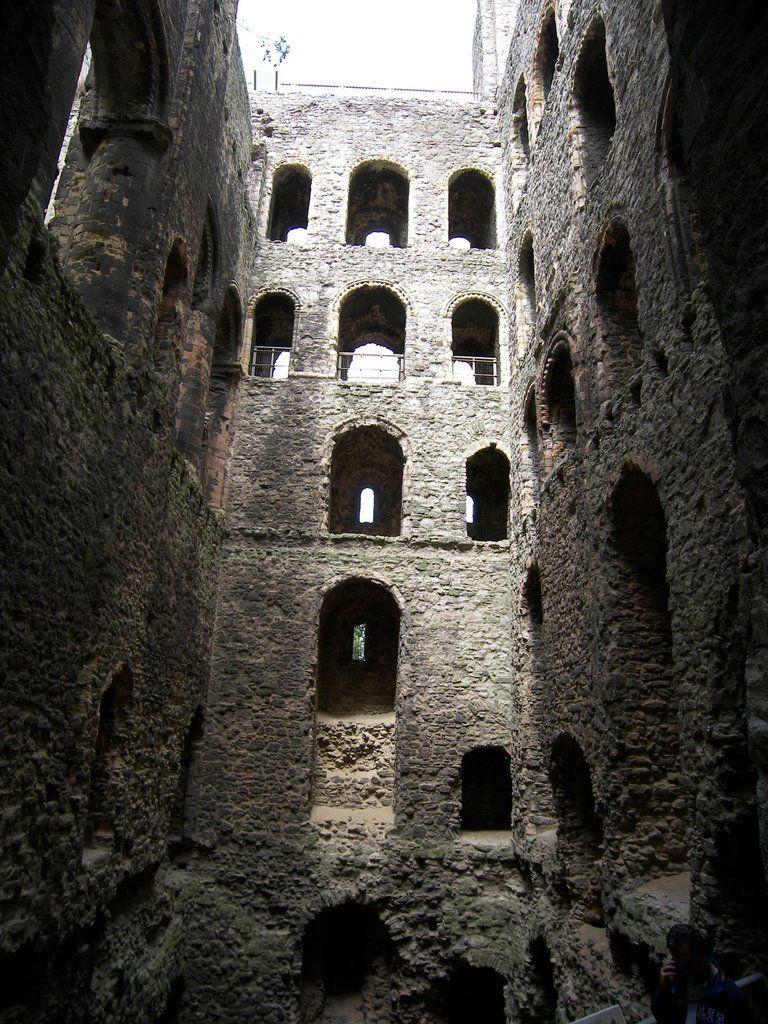 inside Rochester Castle