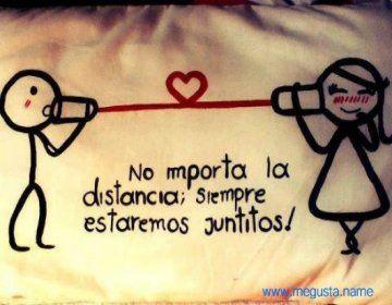 No importa la distancia siempre estaremos juntos... - http://imagenesamorosasya.com/no-importa-la-distancia-siempre-estaremos-juntos/