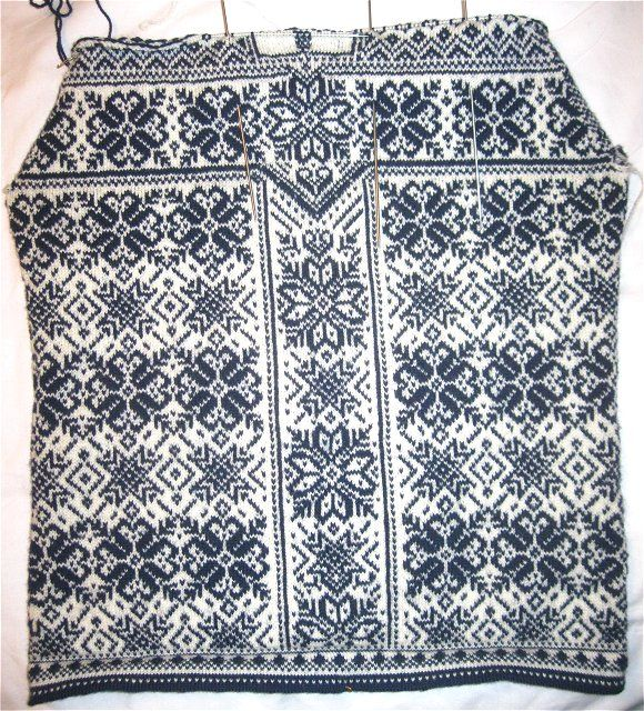 Dale Of Norway Peace Inspired Hand Knitting Pattern Sweater