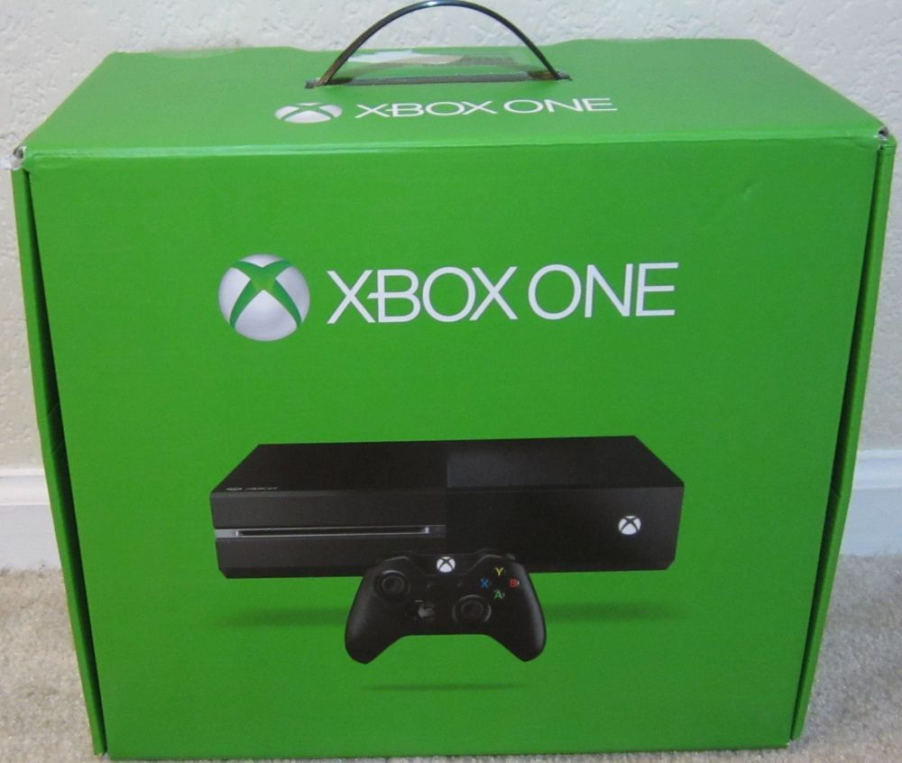 37ad8155a30 Xbox One Replacement   Empty Console Box Only   NO SYSTEM  Microsoft