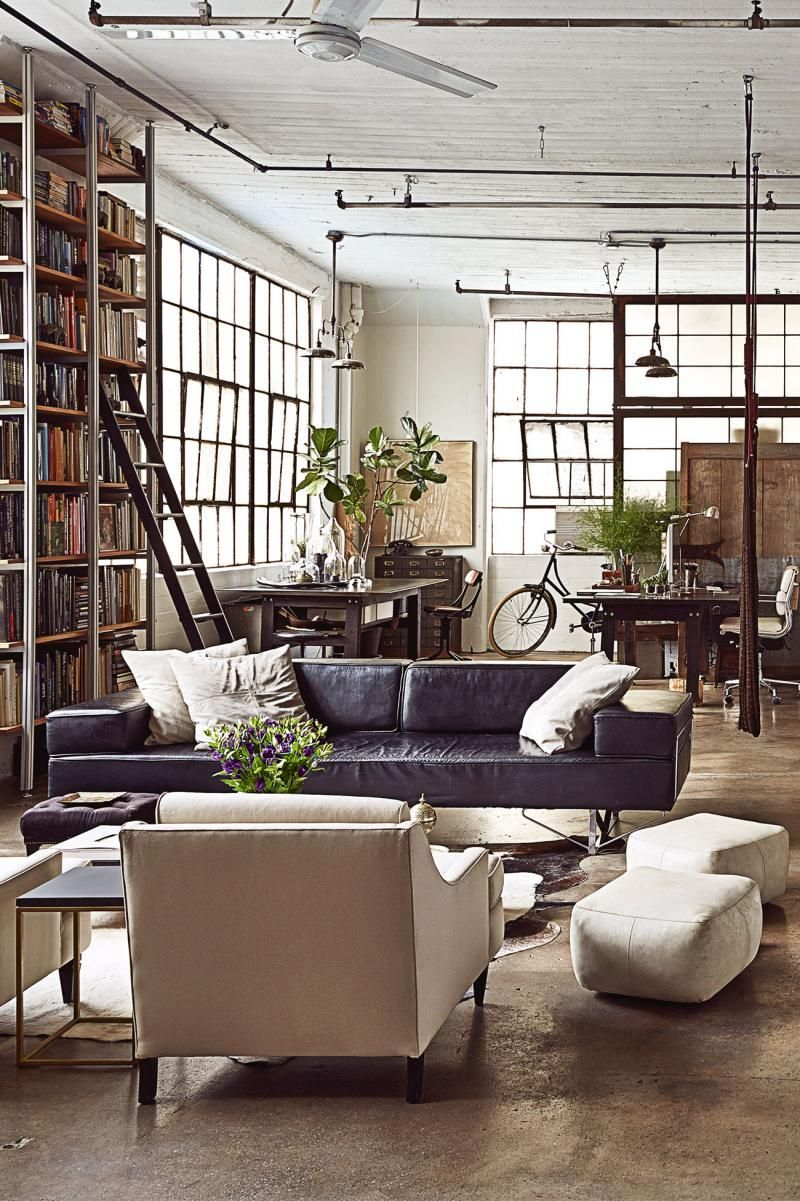 The Ultimate List Of Vintage Romantic Films To Watch Industrial Loft Design Loft Interiors Small Living Room Design
