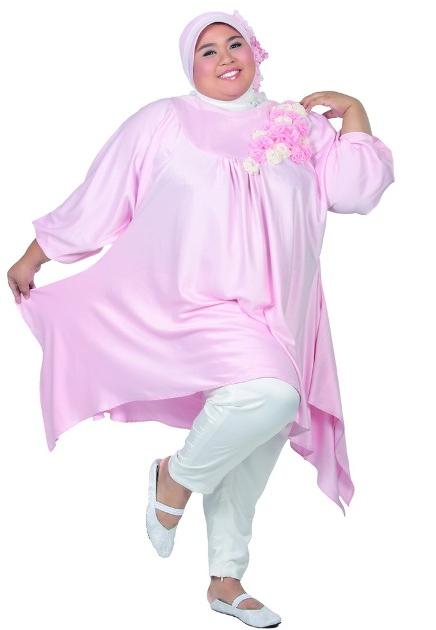 Model Baju Muslim Wanita Modern Untuk Kamu Yang Berbadan Gemuk Baju Muslim Wanita Model