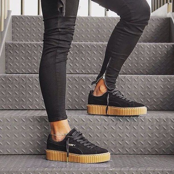 puma creeper black gum