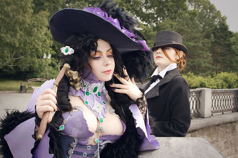 Trinity Blood Manga Cosplay: Jane and Mary by alberti.deviantart.com on @deviantART