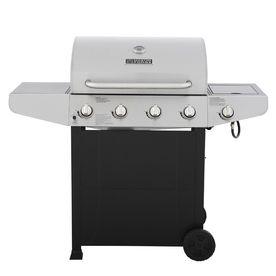Master Forge Bbq Grill.Master Forge Black Stainless Steel 4 Burner 40 000 Btu