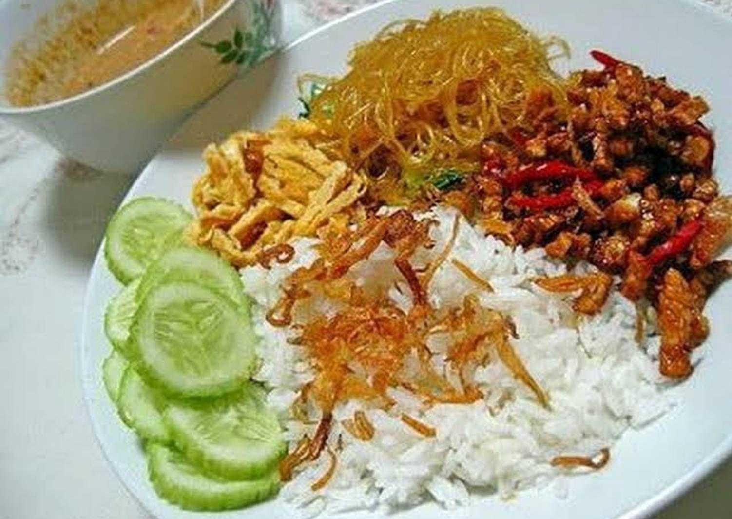 Resep Nasi Uduk Betawi Sambel Kacang Oleh Evynest Resep Resep Masakan Resep Masakan