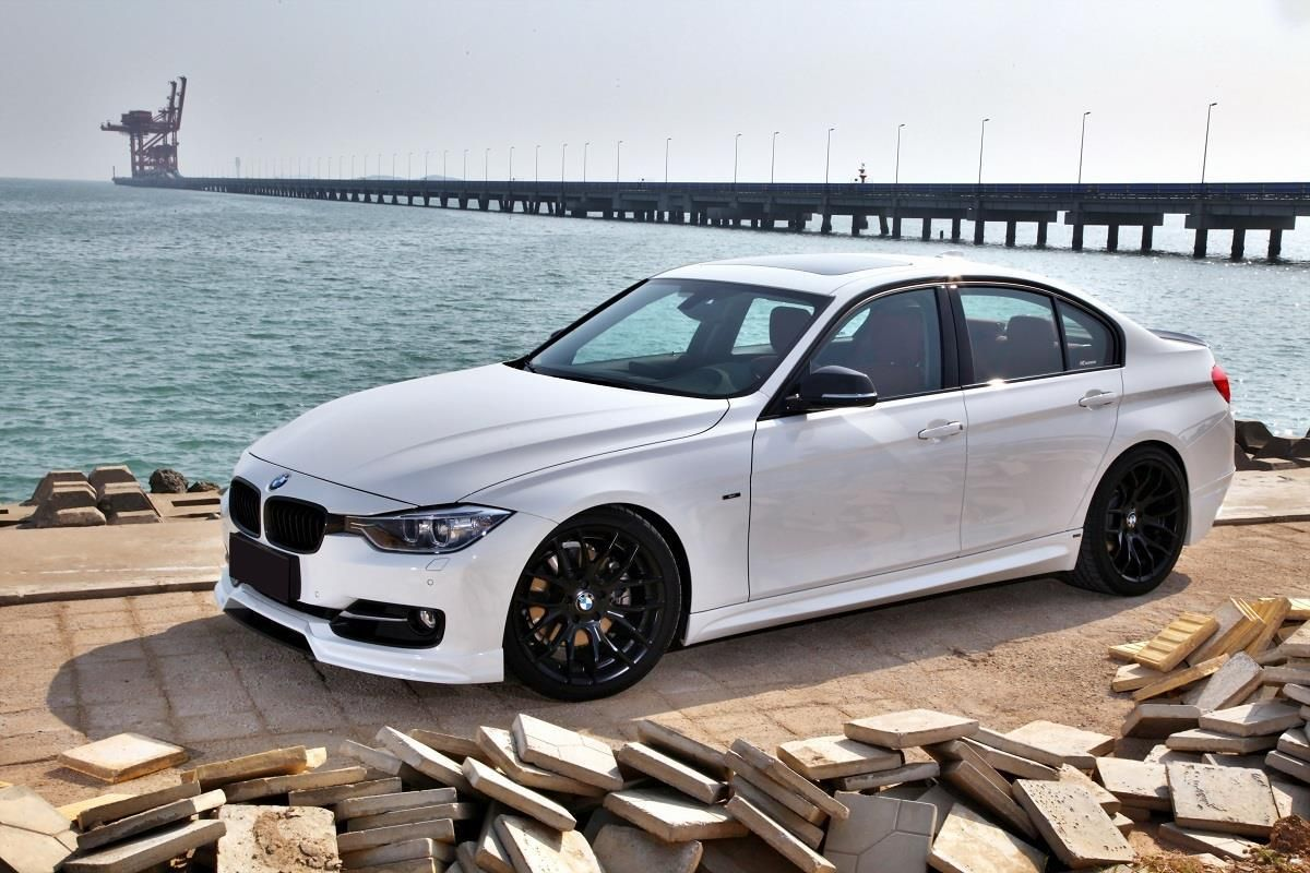 F30 White Custom Black Wheels Bmw Bmw Cars Bmw Bmw 328i