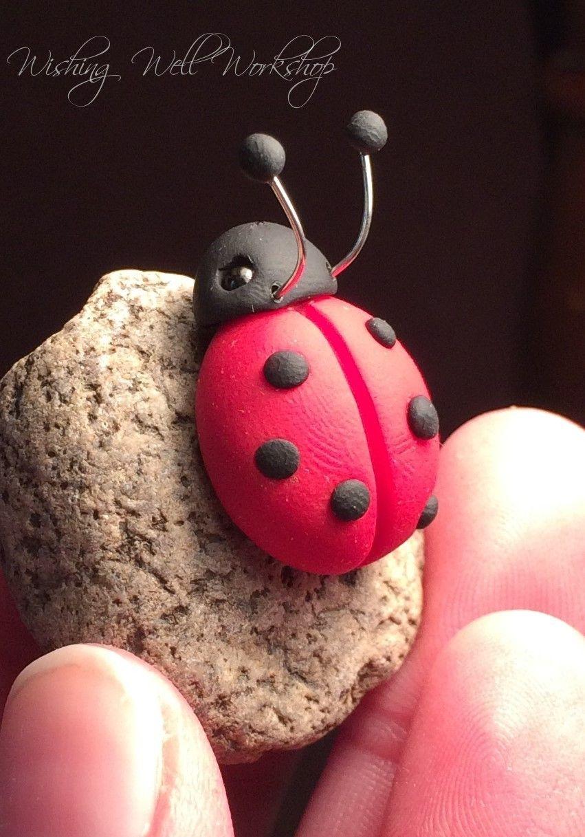 Ladybug of plasticine: ways of modeling