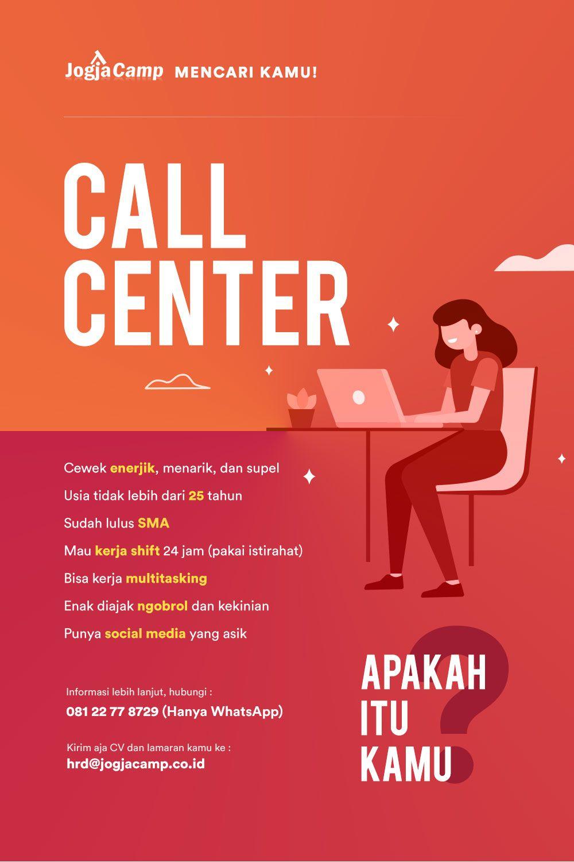 Lowongan Call Center Sma Kerja Cari