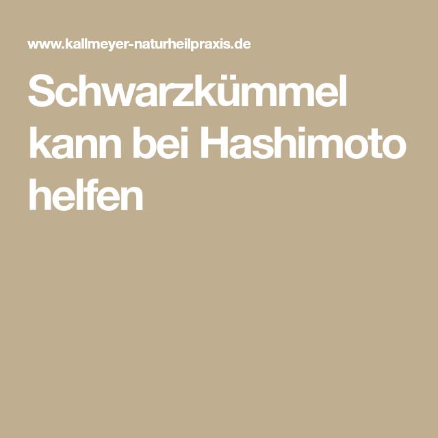 Photo of Schwarzkümmel kann bei Hashimoto helfen