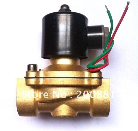 1 1 2 Ac220v High Pressure Nbr Brass Solenoid Valve Normally Closed Direct Acting Water Air Gas Valve Cool Things To Buy High Pressure