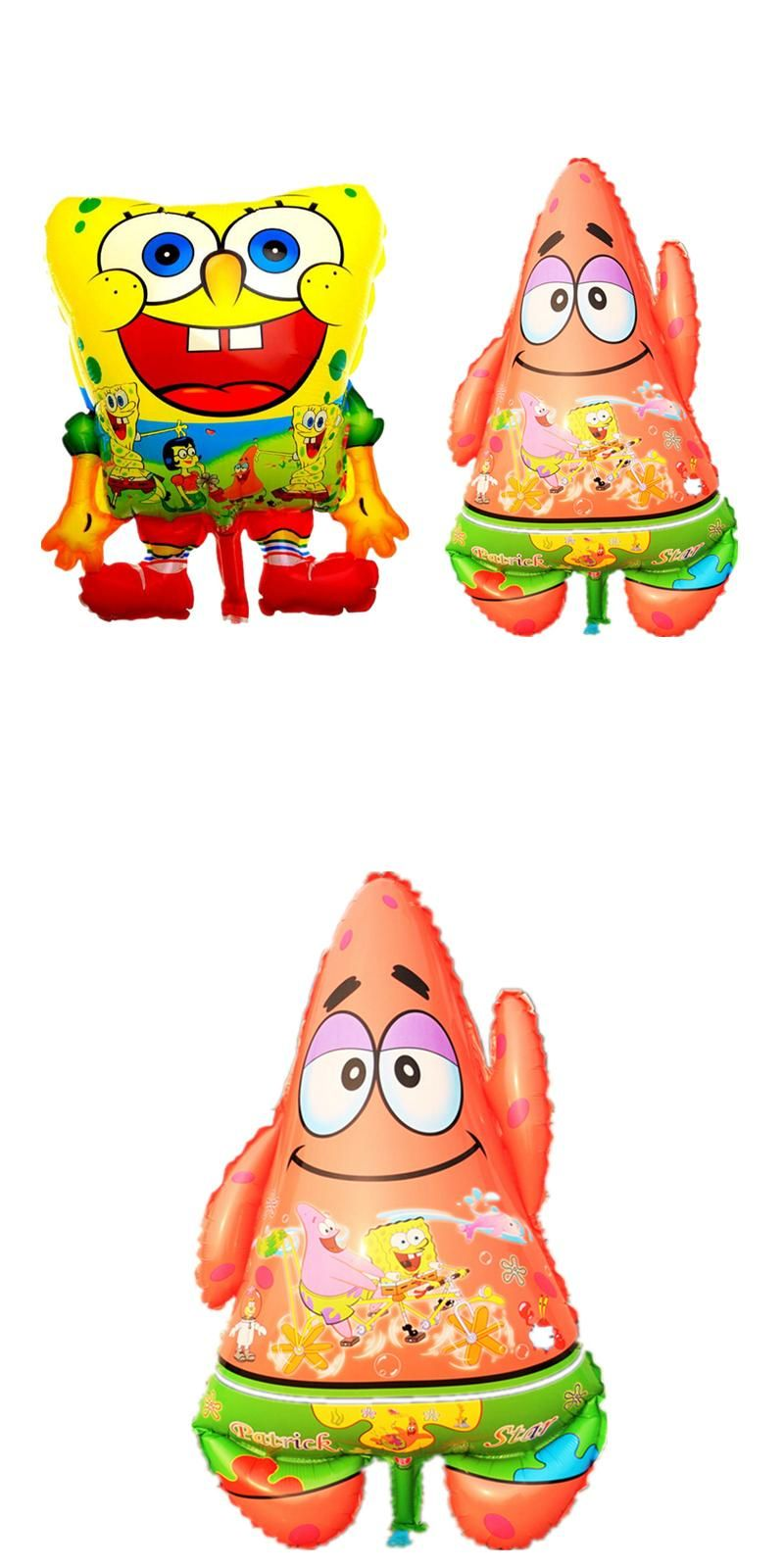 Visit to Buy] 1pcs Cute Cartoon Animal Shape Spongebob Patrick Star ...