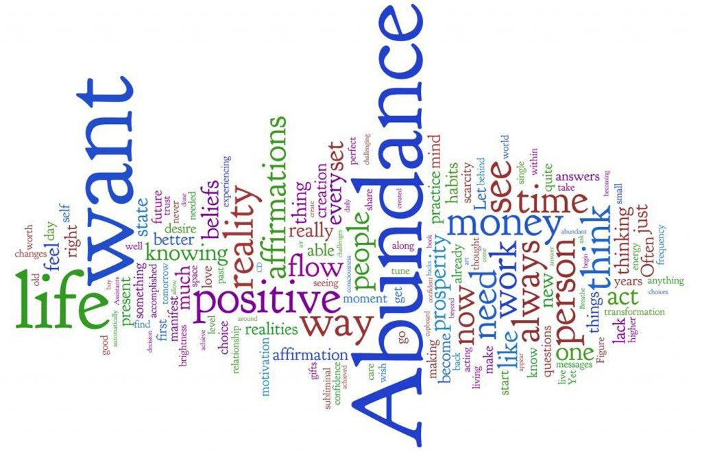 Today I Declare Abundance Love And A Life Full Of Blessings