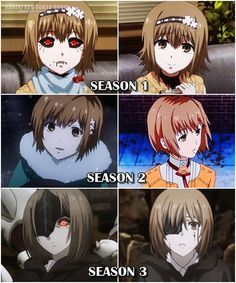 Home Hinami Tokyo Ghoul Tokyo Ghoul Anime Tokyo Ghoul Funny