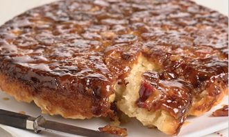 Maple bacon biscuit bake