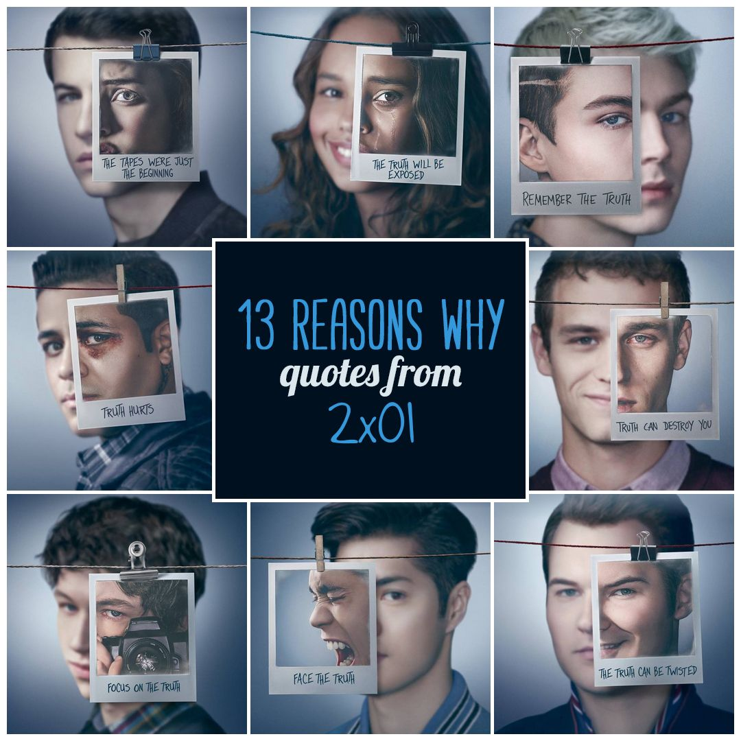 10 Best '13 Reasons Why' Quotes from 'The First Polaroid' (2×01