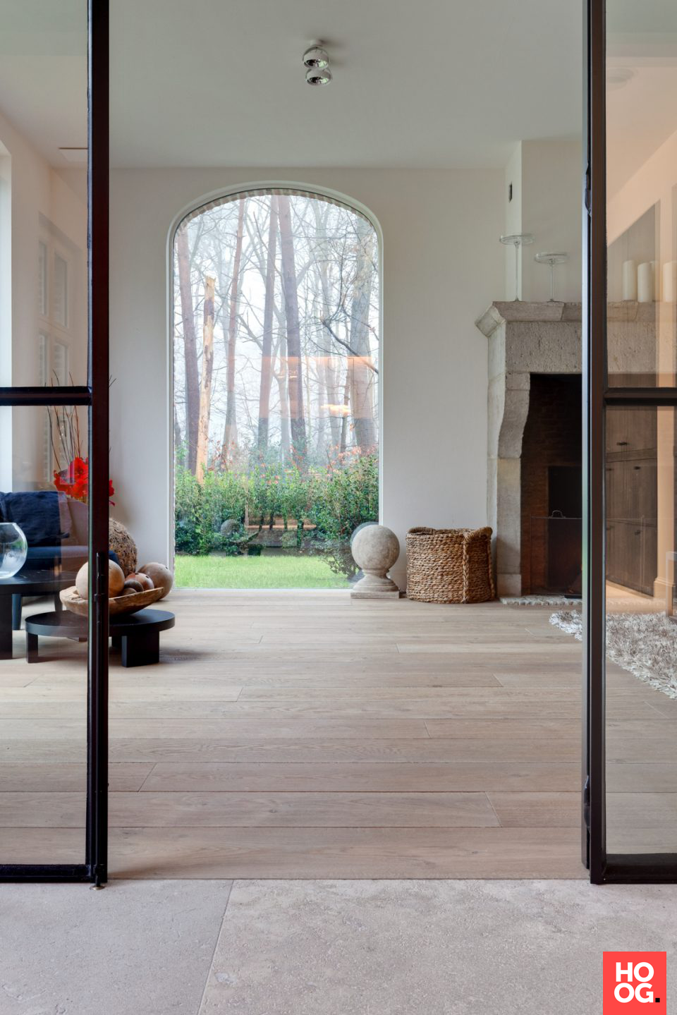 houten vloer in landelijke woning woonkamer ideeà n living room