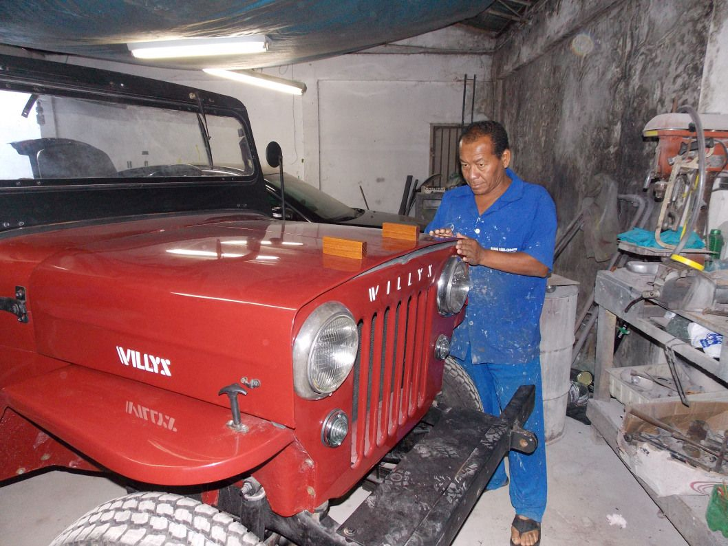Restauracao Jeep Willys Cj3b 1954 Cara De Cavalo Jeep Willys Jipe Vintage Jeep