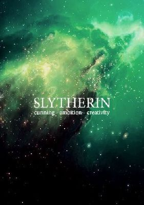 What mix of Hogwarts houses are you?   True Slytherin