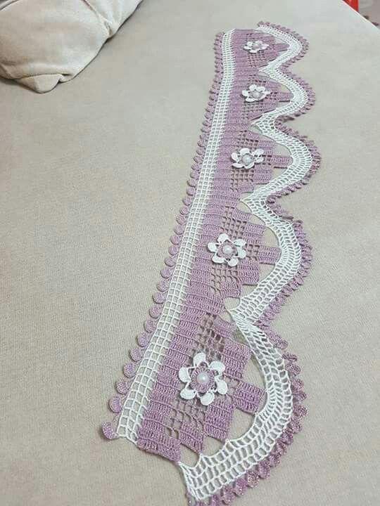 Pin de Zeynep Demir en havlu29 | Pinterest | Puntillas en crochet ...