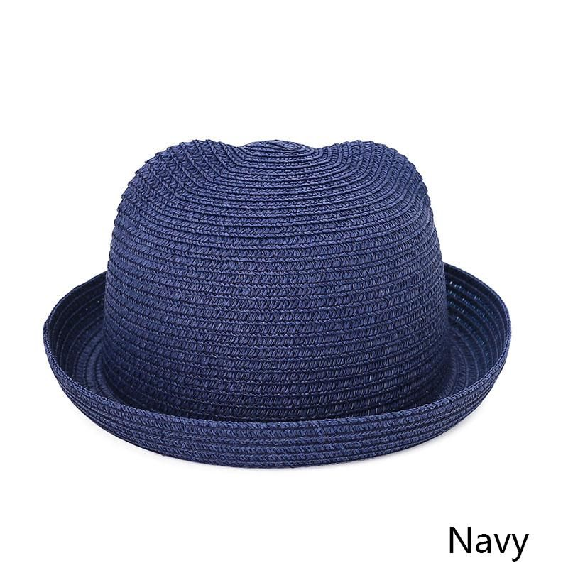 f58c64974a6 MOLIXINYU Fashion Ears Straw Hats Baby Hats For Girls Bucket Hat Boys Cap  Children Sun Summer