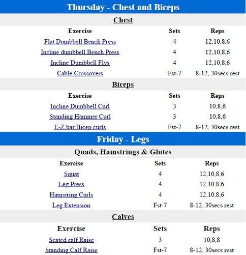 Fst 7 Part 2 Bodybuilding Workouts Workout Plan Workout