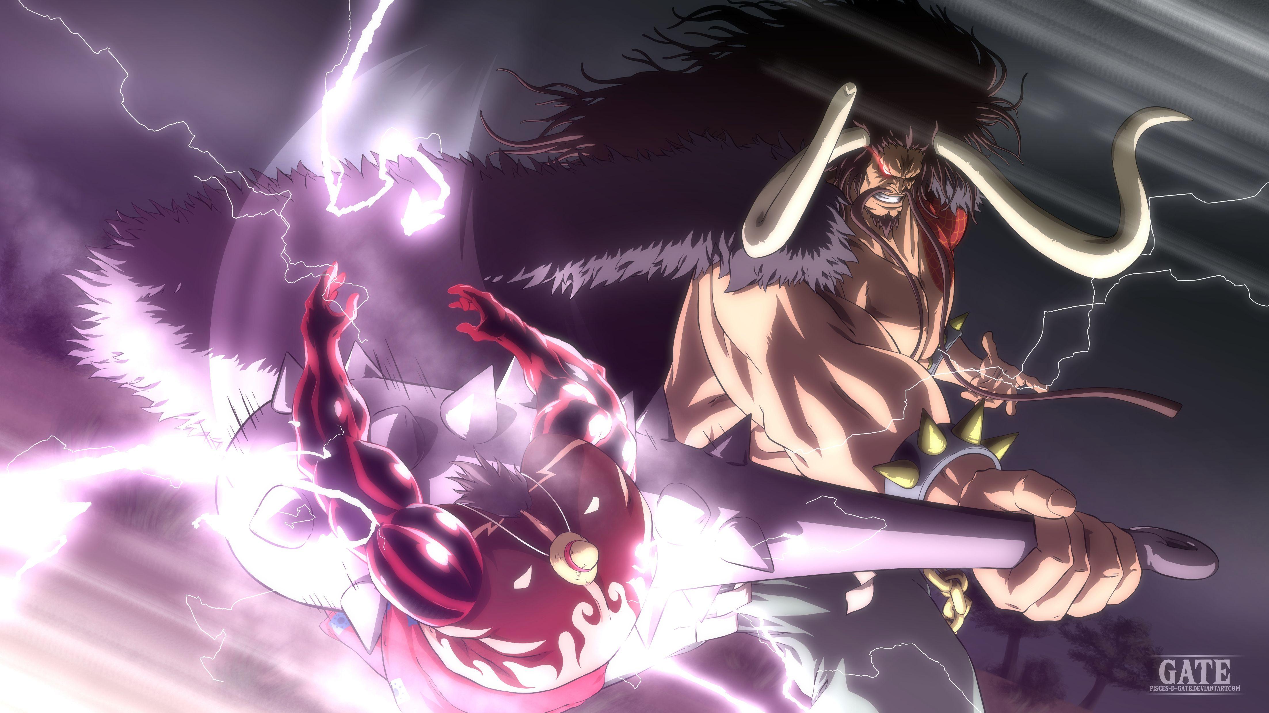 One Piece Chapter 923 Raimei Hakke By Pisces D Gate One Piece World One Piece Fanart One Piece Anime