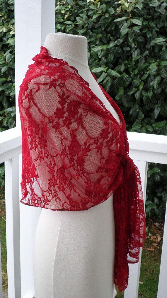 grande sélection vente usa en ligne 2019 meilleurs Etole écharpe foulard châle#pour femme#en dentelle# rouge ...