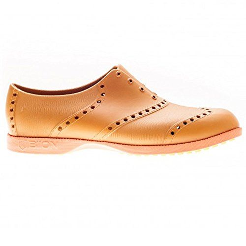Biion Oxford Bright Unisex Golf Shoes  LeatherOrange  Mens 13 >>> You can find out more details at the link of the image.(This is an Amazon affiliate link and I receive a commission for the sales)