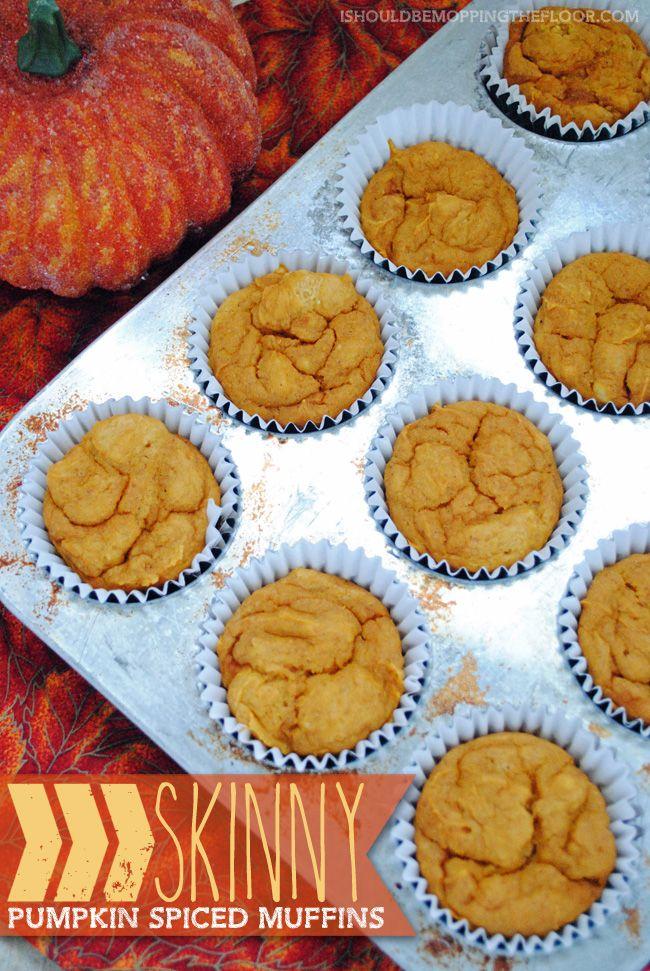 Pumpkin Yellow Cake Mix Recipe Muffin