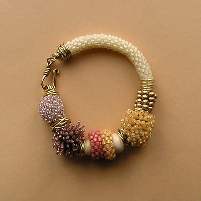 AnotherCountry BeadWorks: California Sorbet - a Multiplicity Bracelet