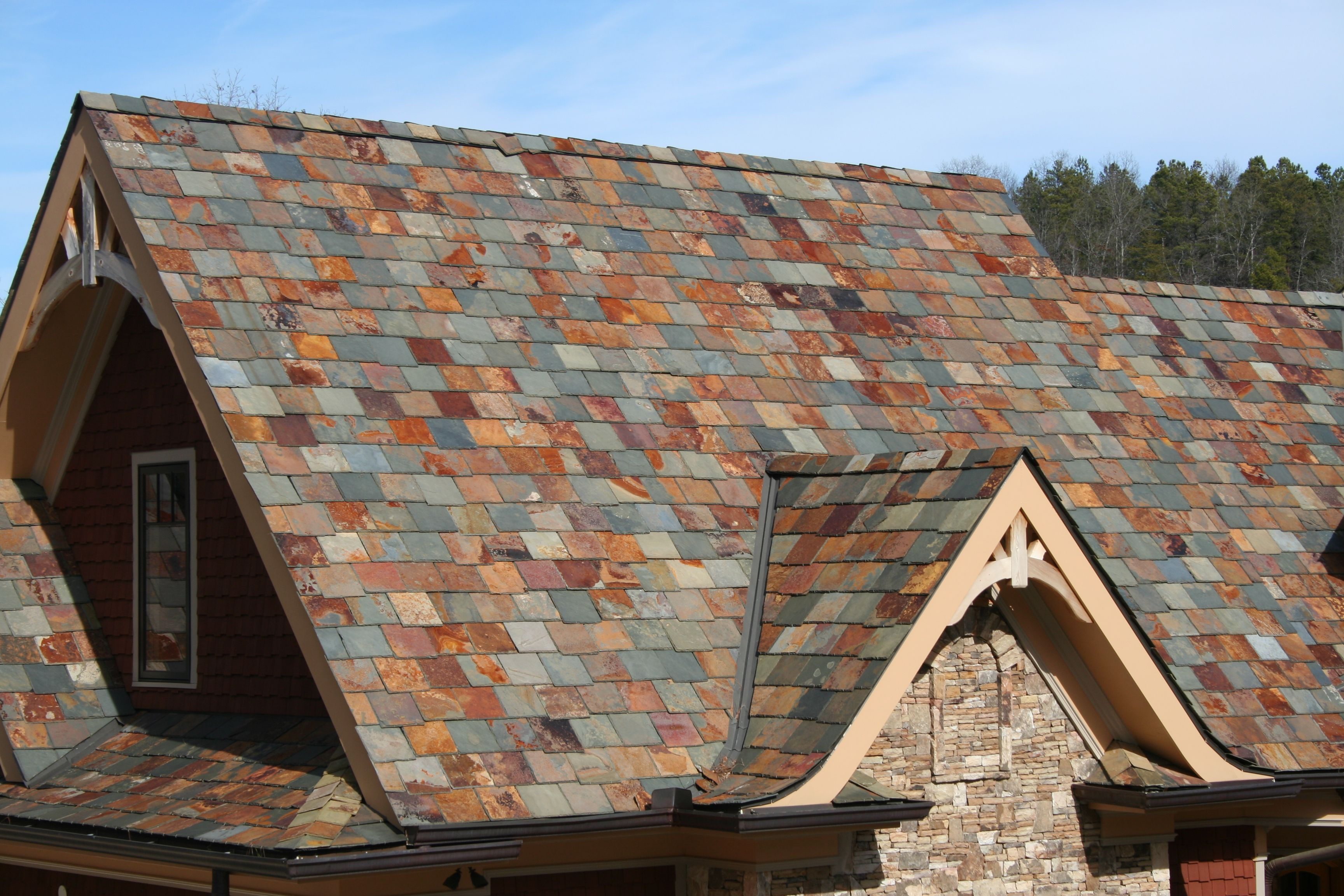 Pin By Eric Allen On Roofing Slate Roof Cool Roof Rooftop