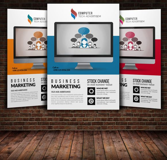 Product Promotion Flyer Templates By Psd Templates On Creative