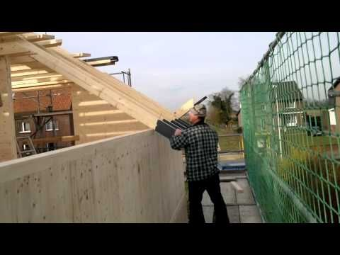 Holz Siegburg nur holz massivholzhaus vollholzhaus passivhaus montage dachstuhl