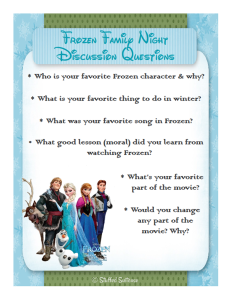 frozen party family dinner movie night printables pinterest rh pinterest com Great Expectations Study Guide Questions Army Study Guide Questions